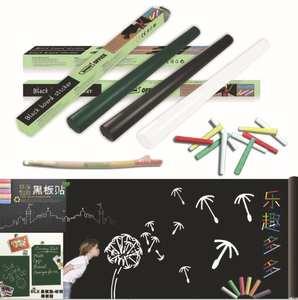 300PCS/lot 45*200cm Functional Erasable Whiteboard/Blackboard Removable DIY Home