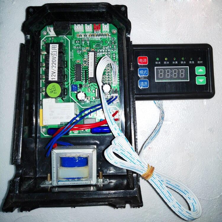Aletler'ten Alet Parçaları'de Buz makinesi anakart bilgisayar kurulu devre kontrol panosu ile sıcaklık kontrolü ekran aksesuarları