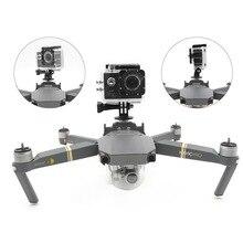 Multifunction Fixed Bracket Gimbal Camera Mount Holder font b Drone b font Body Part LED Light