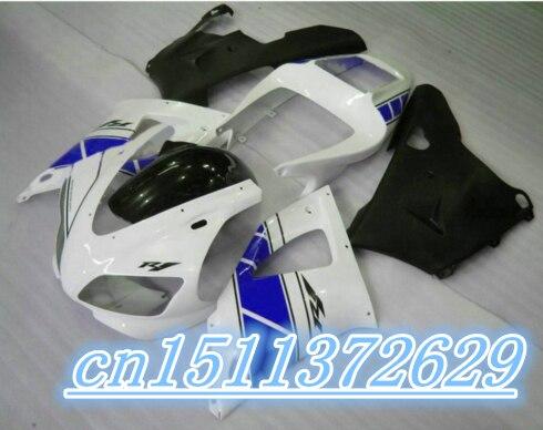 Обтекатели высокого качества комплект для 1998 1999 YZF R1 YZF R1 98 99 1998 1999 комплект обтекателей, черная, белая, синяя, D