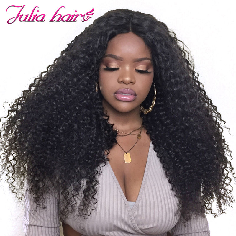 Ali Julia Hair 13 4 13 6 Inch Lace Front Wig Malaysian Curly Hair Wigs With