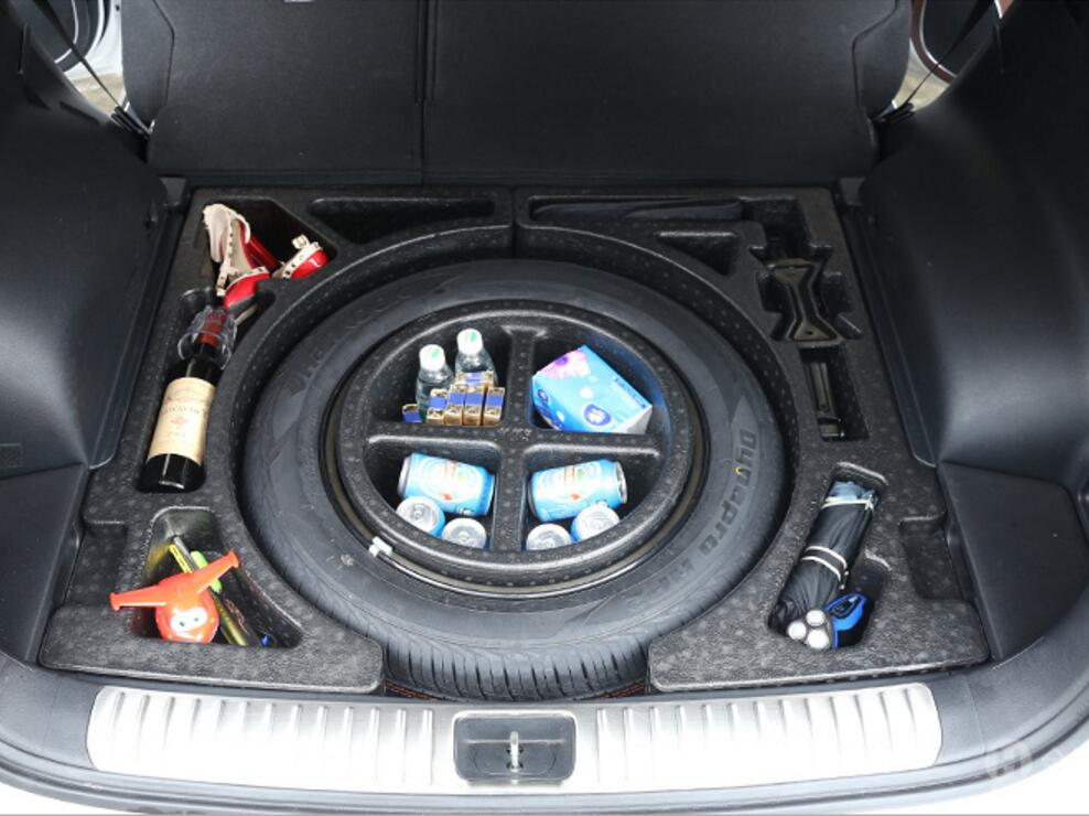 Rear Trunk Underneath Spare Tire Compartment Storage