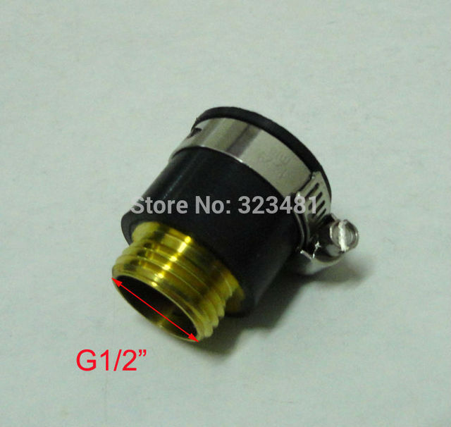"Bathroom Faucet Hose Adapter aliexpress : buy g1/2"" rubber universal adapter black faucet"