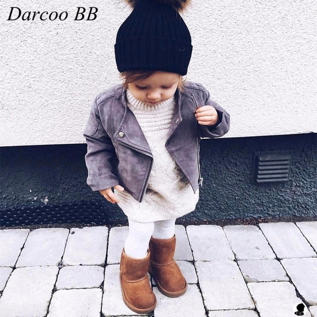 be1bb7046228 High Quality New Fashion Autumn Winter Baby Girls Coat Toddlers Warm ...