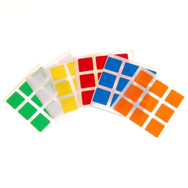 6 Color Sticker for 3x3x3 Magic cube Puzzle Cubes6 Color Sticker for 3x3x3 Magic cube Puzzle Cubes