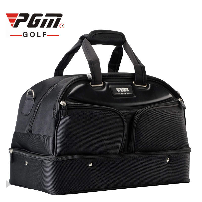 Pgm Golf Clothing Bag Men's Double-Layer Traveling Bags Large Capacity High Quality Shoes Ball Handbags Nylon Clothes Bags D0057