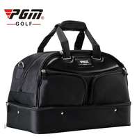 Pgm Golf Clothing Bag Men's Double Layer Traveling Bags Large Capacity High Quality Shoes Ball Handbags Nylon Clothes Bags D0057