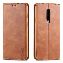 AZNS Leather case bag wallet cover OnePlus 7 Pro luxury silicon tpu flip case OnePlus 7 Card slot Vintage pu phone cases shell