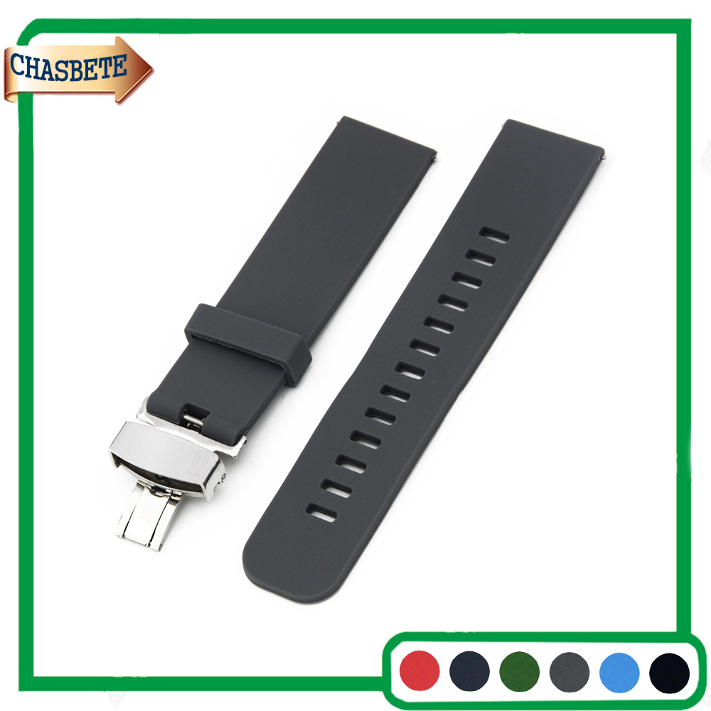 Silicone Rubber Watch Band for Amazfit Huami Xiaomi Smart Watchband 22mm Men Women Resin Strap Belt Wrist Loop Bracelet Black silicone rubber watchband double side wearing strap for armani ar watch band wrist bracelet black blue red 21mm 22mm 23mm 24mm