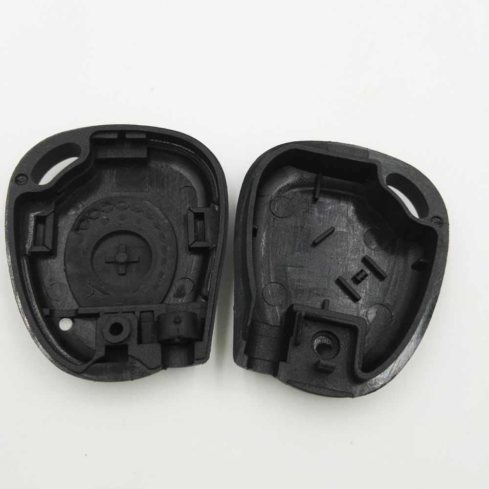 Замена ключ-Болванка машины дистанционное управление крышкой корпуса с чипом отверстие для Renault Clio Fluence Logan Duster ключ оболочки