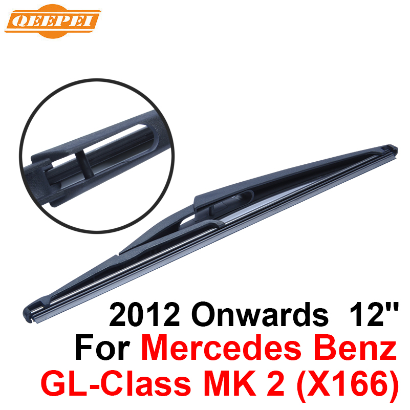 QEEPEI Rear Wiper Blade No Arm For Mercedes Benz GL-Class MK 2 (X166) 2012 Onwards 12 5  ...