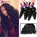 Peruvian Virgin Hair Loose Wave Virgin Hair 4 Bundles Peruvian Loose Wave Virgin Hair 8A Human Hair Weave 30days Easy Return