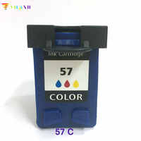 Vilaxh compatible C6657A 57 Ink cartridge replacement for hp 5150 450CI 5550 5650 7760 9650 PSC 1315 1350 2110 2210 2410 printer