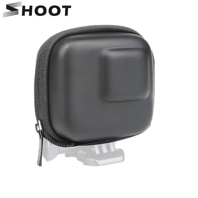 Custodia GoPro Hero 8 7 6 5 Nero Mini EVA di Protezione Caso Di Immagazzinaggio Del Sacchetto Scatola di Montaggio per Go Pro hero 8 7 5 Nero Accessori In Argento 1