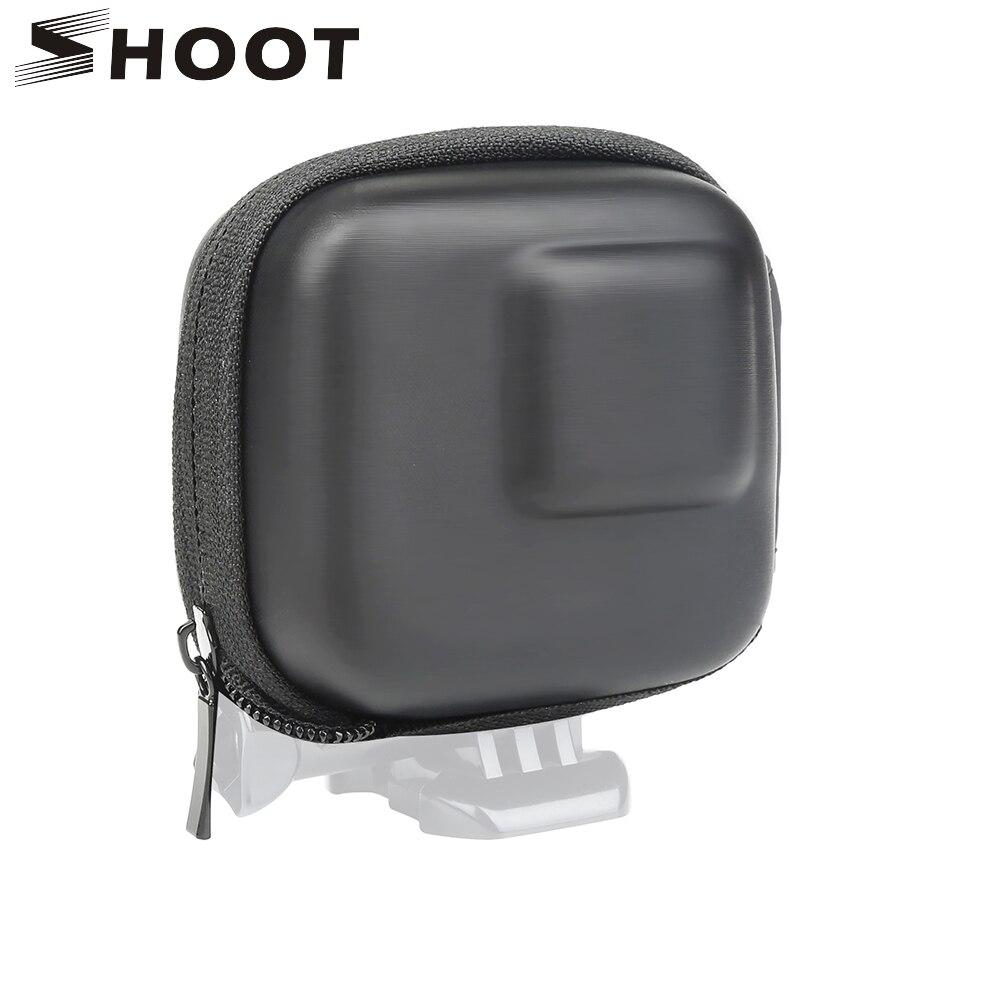 تبادل لاطلاق النار ل GoPro بطل 8 7 6 5 الأسود مصغرة إيفا واقية حقيبة للتخزين صندوق حقيبة جبل ل الذهاب برو بطل 8 7 5 الأسود الفضة الملحقات