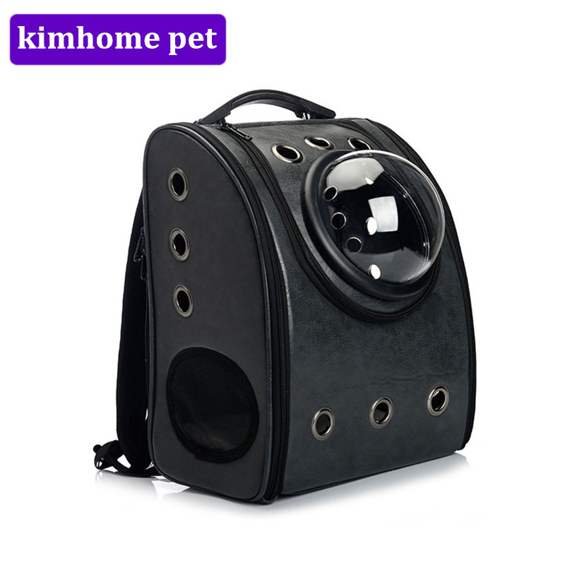 New Pet Carrier Backpack Space Cat Dog Carrier Capsule Bags with Zipper Breathable Carrier Bag Cat