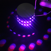 110V 220V 3W Aluminum Shell RGB Led Wall Light Remote Control Wall Lamps Indoor Lighting For