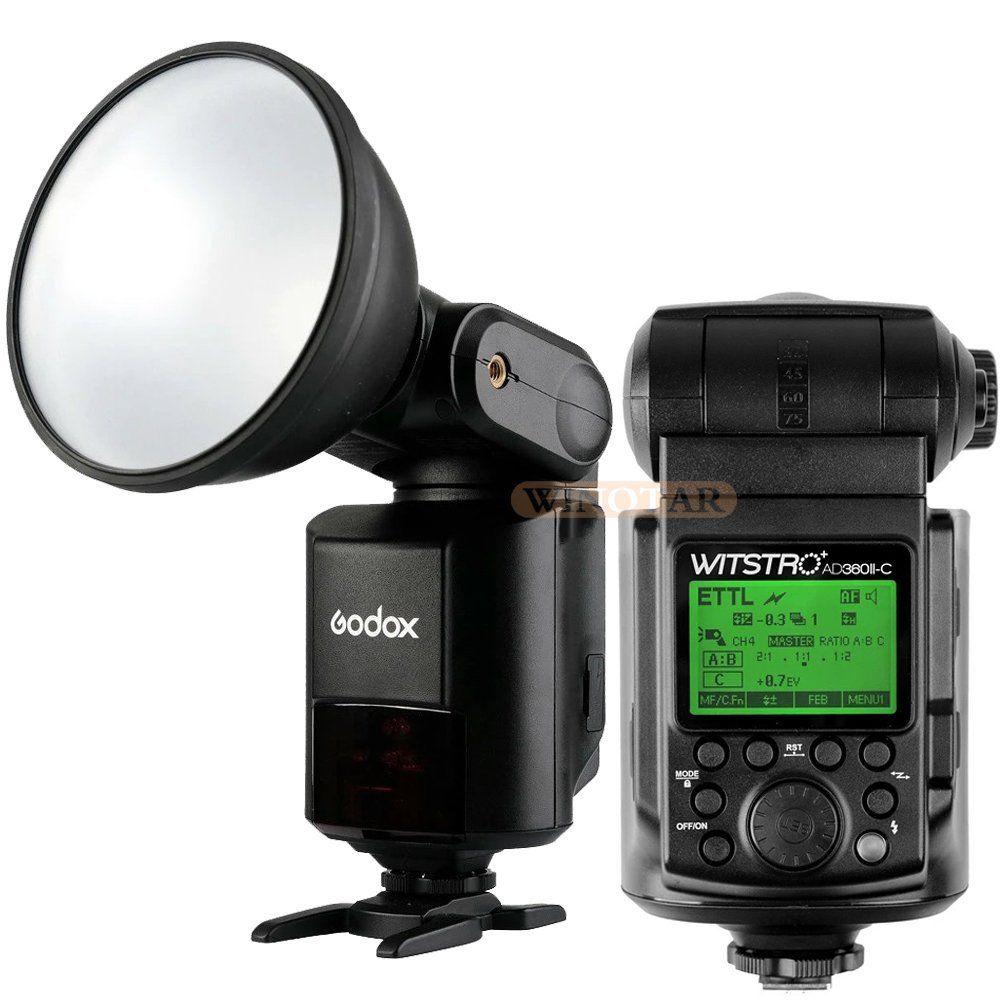 Godox Witstro AD360 AD360II-C 360W GN80 E-TTL HSS Single Flash Speedlite for Canon