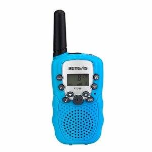 Image 4 - 1pc Mini Walkie Talkie Kinder Radio Retevis RT388 0,5 W UHF 462 467MHz UNS Frequenz Tragbare Zwei weg Radio J7027
