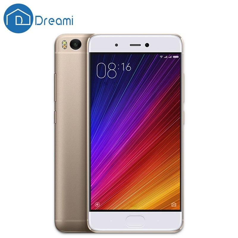 Dreami Original Xiaomi Mi 5S mi5s 3GB RAM 64GB ROM Cellphone Snapdragon 821 Quad Core 5.15 Inch