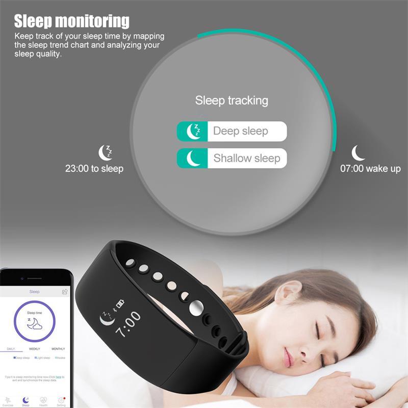 V66 pulsera inteligente impermeable 7