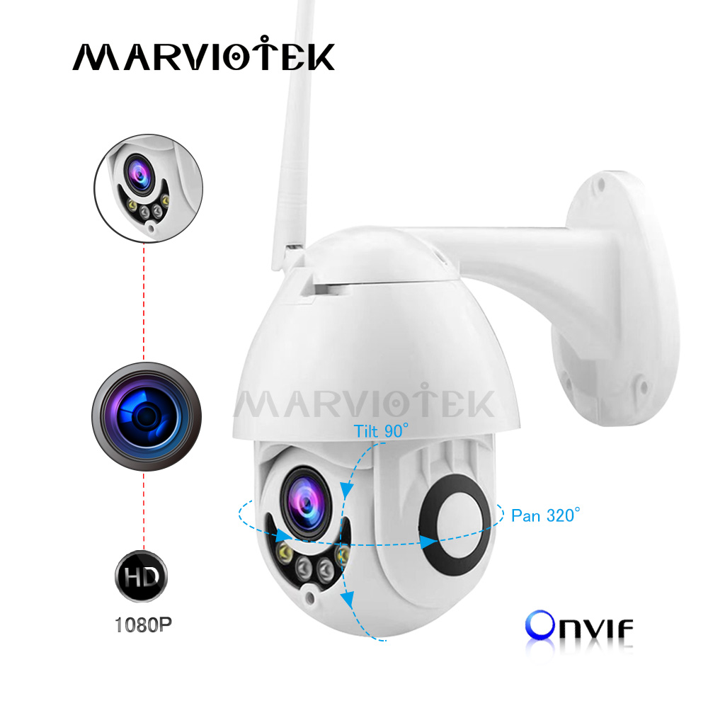 720P Mini Camera HD Wireless IP Camera Wifi Outdoor Speed Dome CCTV Camera 1080P Home Security