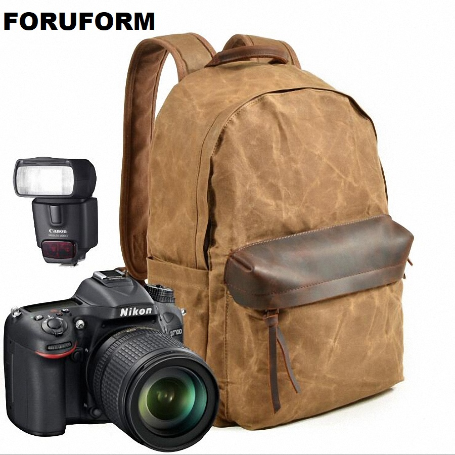 2018 New Fashion Camera Bag Backpack DSLR Laptop Backpack Waterproof Canvas Rucksack Travel Multifunctional Backbag LI-2199 цена и фото