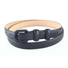 New Fashion Women Genuine Leather Belt Straps Skinny Leather Belts Female Ladies Jeans Pants Belt Casual