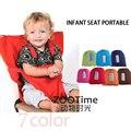 Bebê Cadeira de Jantar Portátil Assento Infantil Do Produto Almoço Cadeira/Cinto de Segurança Alimentar Cadeirinha Harness assento da cadeira do Bebê