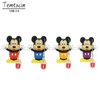 Lovely Mickey Mouse Minnie USB Flash Drive Good Quality U Disk 4G 8G PenDrive 16G 32G