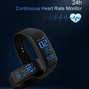 Image 2 - Smart Bracelet Fitness tracker Heart Rate Monitor passometer call message reminder Compatible for andriod ios pkhuawei Band