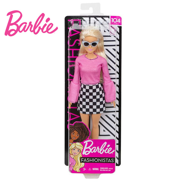 Barbie 100% Original Fashionistas Girls 24