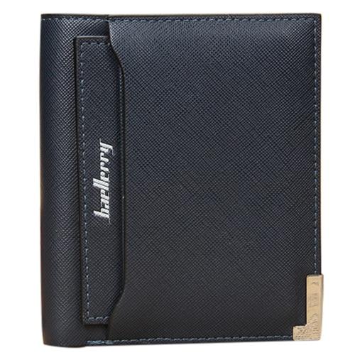 top sale men's pu leather creative cross pattern removable