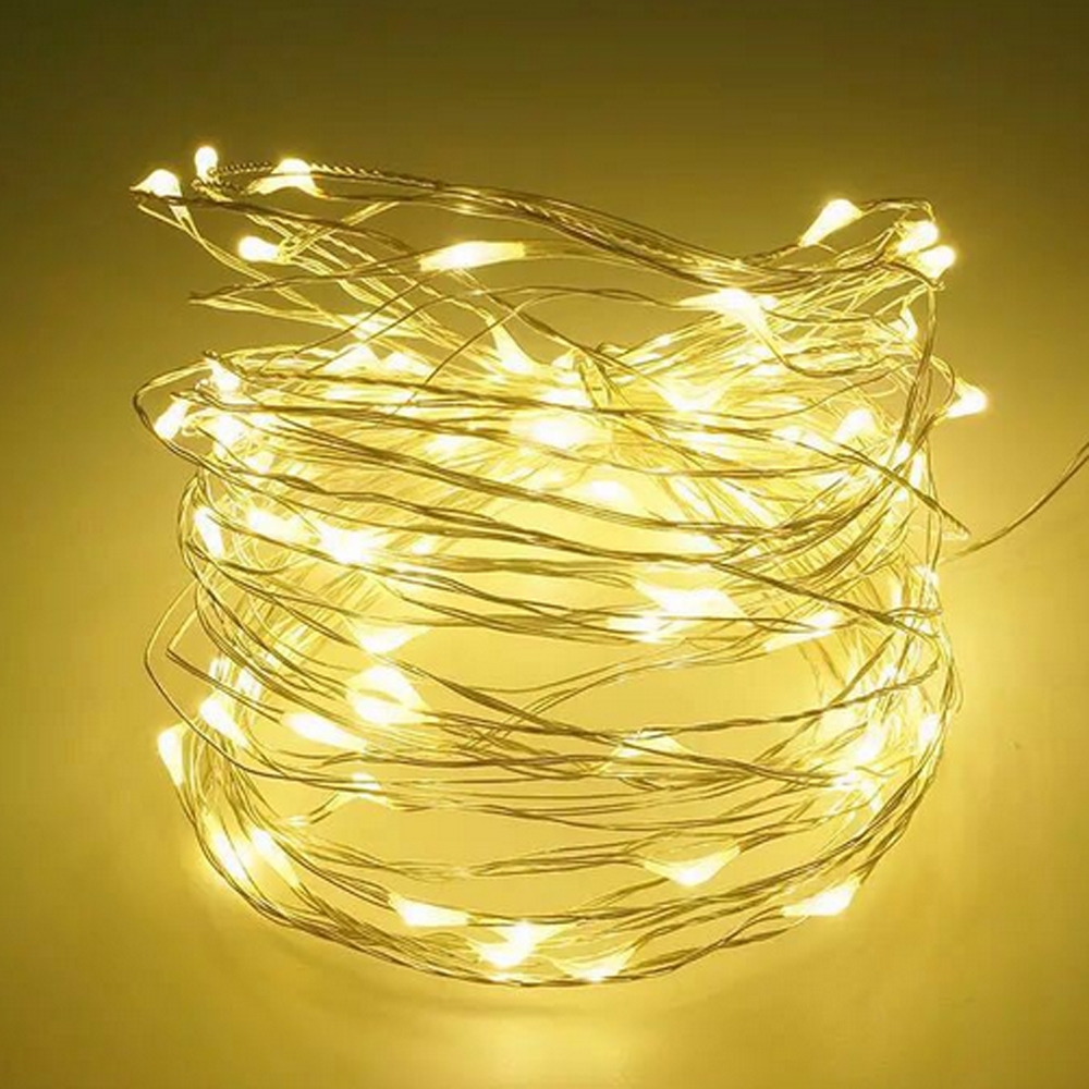 5m 50 LED Copper Wire String lights night Light Holiday lighting For Garland Fairy Christmas Tree Wedding Party Decoration 5m 50 LED Copper Wire String lights night Light Holiday lighting For Garland Fairy Christmas Tree Wedding Party Decoration