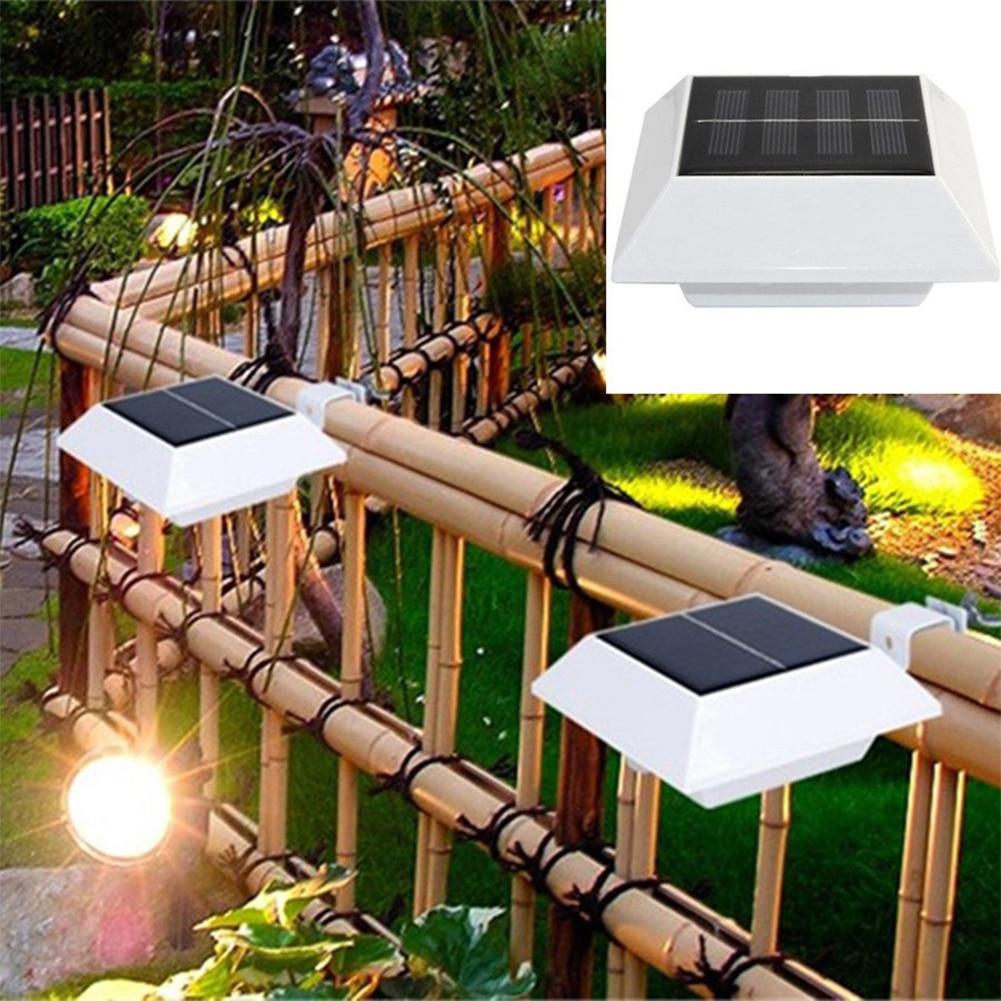 4 Bright White LED Garden Led Solar light Outdoor Waterproof Garden ...