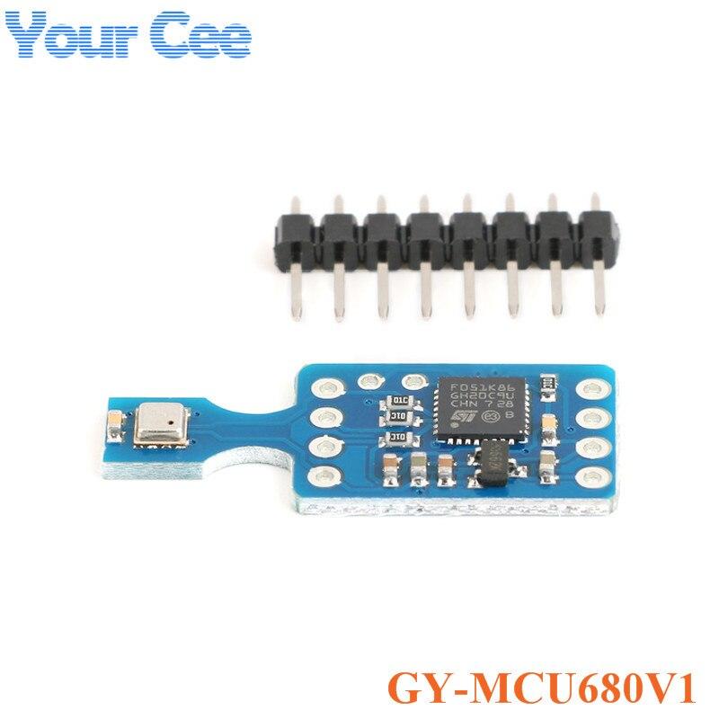GY-MCU680V1 BME680 Sensor Modul Temperatur und Feuchtigkeit Luftdruck Luft Qualität IAQ MCU680 Modul
