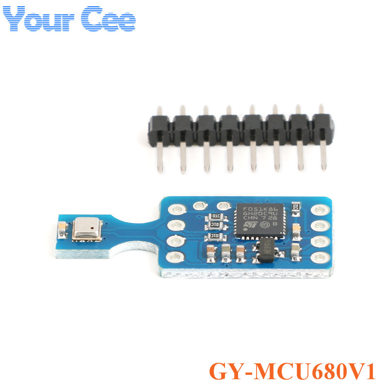 GY-MCU680V1 módulo sensor bme680 temperatura e umidade da pressão do ar qualidade iaq mcu680 módulo