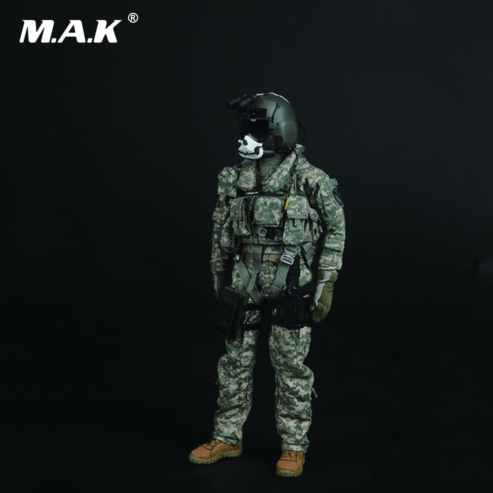 1/6 U.S. ARMY PILOT AIRCREW Full Set   Action Figure with Accessories 1 6 soldier action figure the dark zone agent renegad with weapon model accessories full set collections