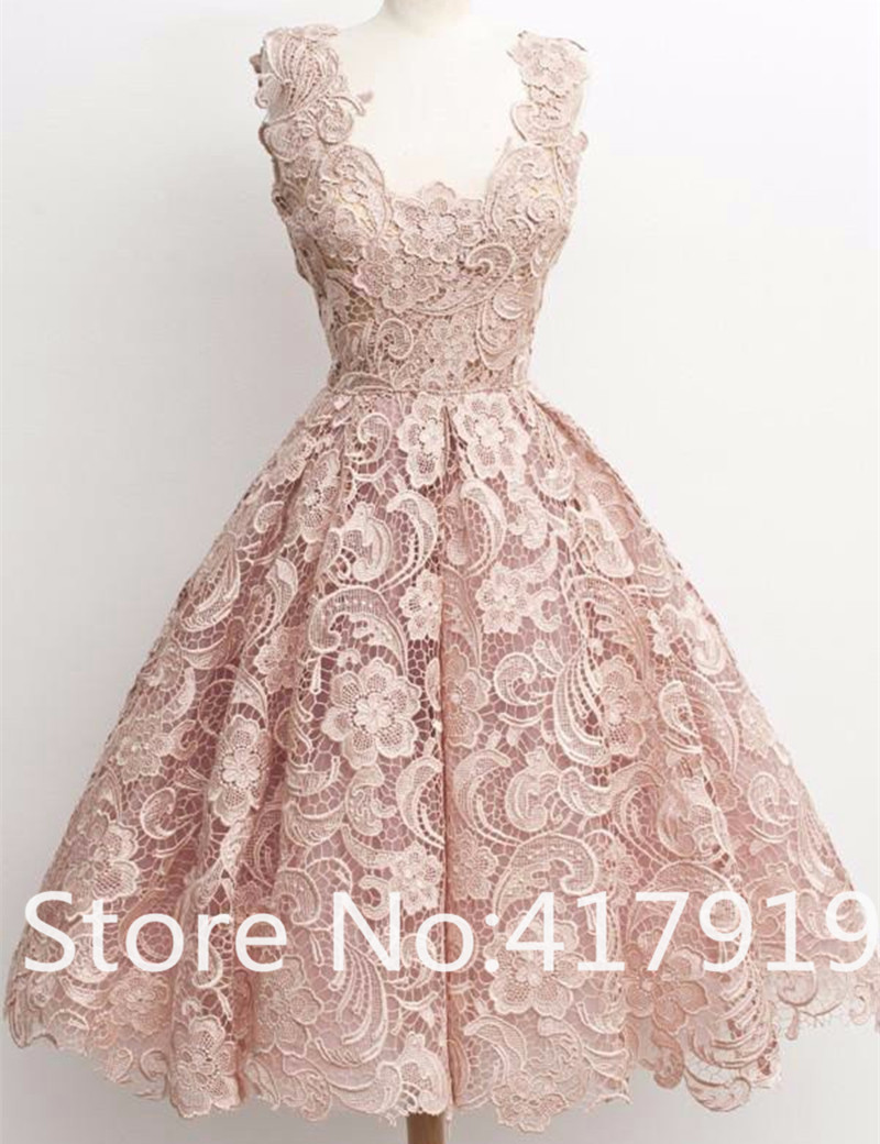 2016 lovely top quality lace short bridesmaid dress purple for Wedding guest lace dresses