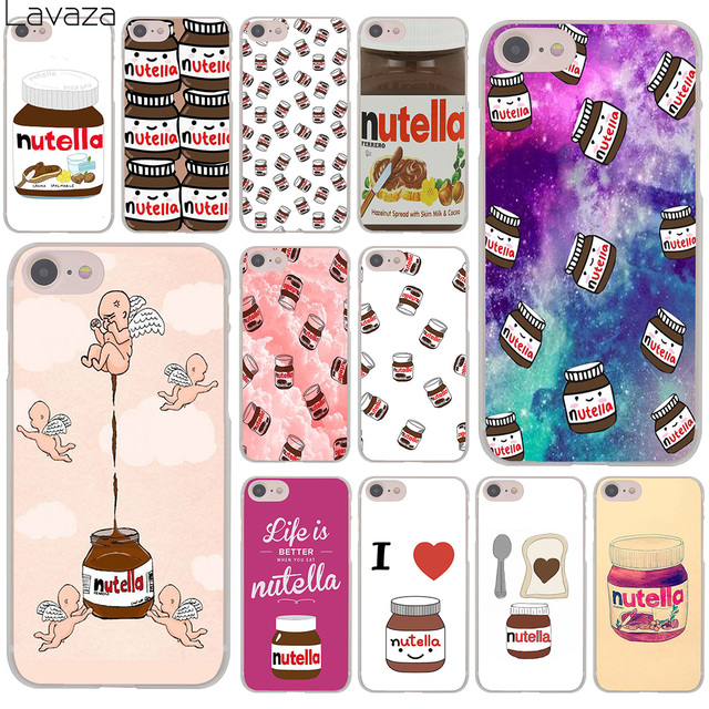 Top Lavaza chocolate Food Tumblr Nutella Hard Cover Case for Apple  SA79