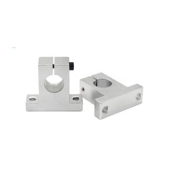 цена на 1pc SK8 SK10 SK12 SK13 SK16 SK20 SH8A 8mm linear ball bearing rail shaft Side Blocks support XYZ Table CNC 3D printer Part