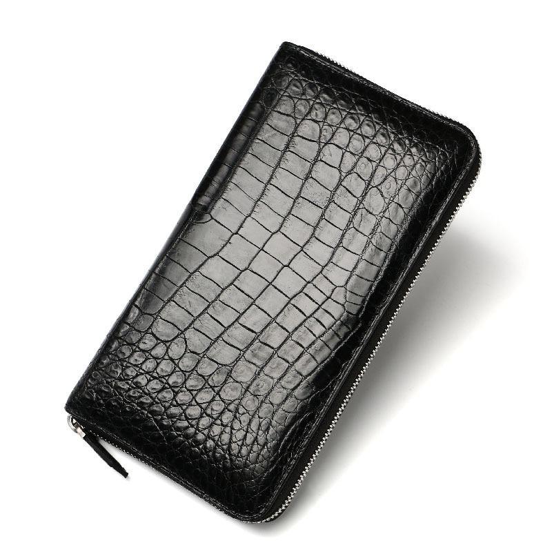 2018 New Coin Purse Embossing Alligator Fashion Crocodile Long Men Clutch Wallets Men s Crocodile Long