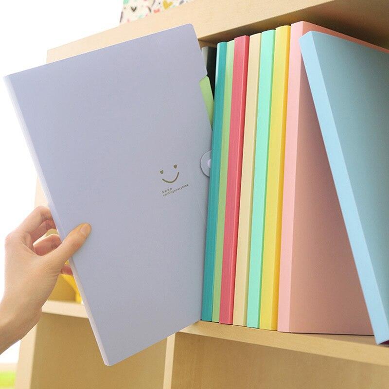 5 Teile Satz Wasserdicht Buch A4 Papier Datei Ordner Tasche