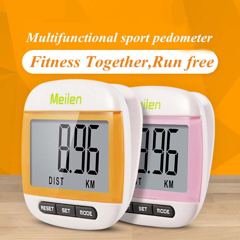 Mini Waterproof Step Movement Calories Counter Multi Function Digital Pedometer