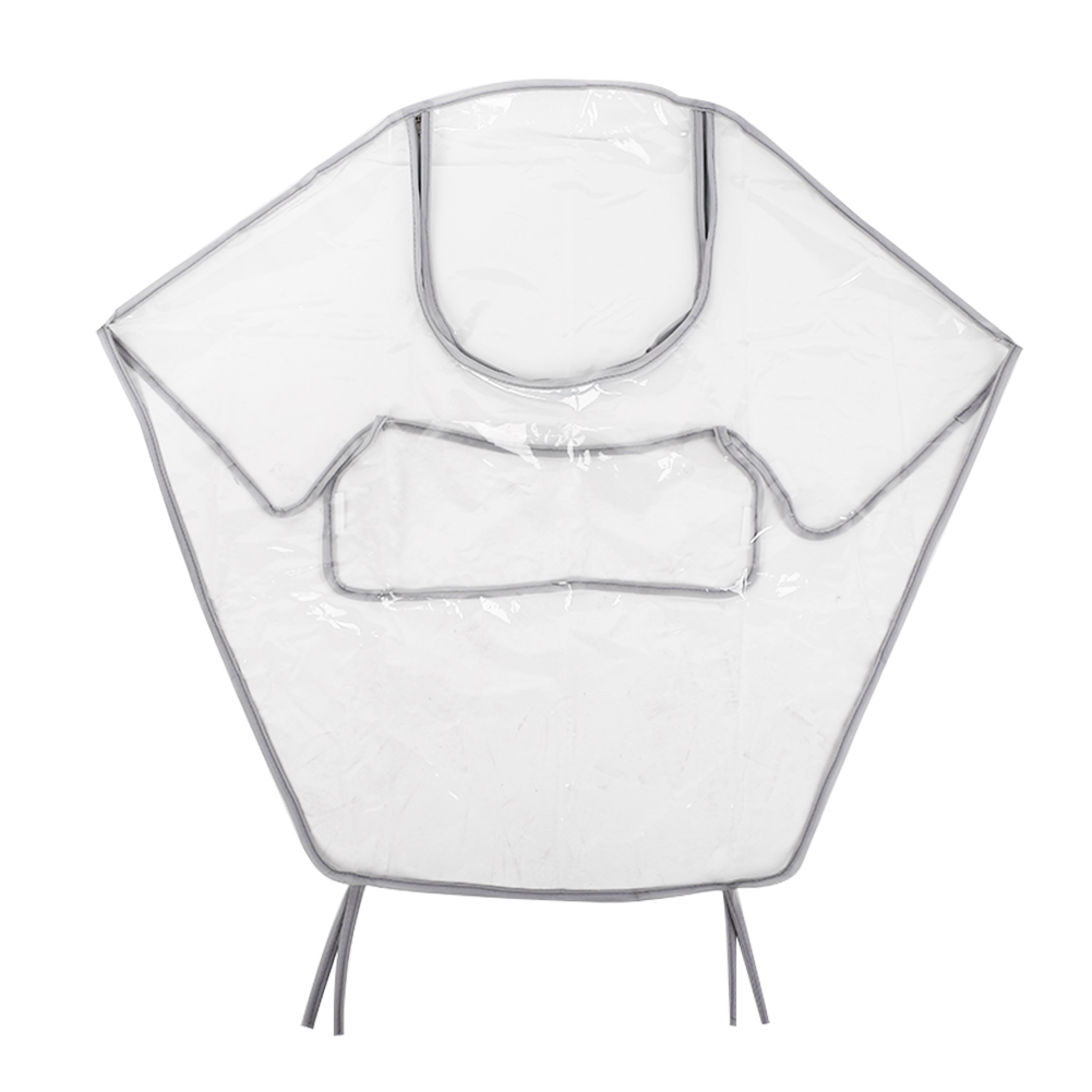 Детская коляска дождевик Младенческая коляска дождевик коляска для новорожденных дождевик прозрачный; эва креативная Парашютная тележка