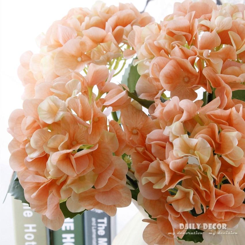 Real touch felt latex artificial hydrangea flowers wedding real touch felt latex artificial hydrangea flowers wedding decorative silicone hydrangea wholesale 12pcs hortensia mightylinksfo