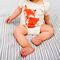 Newborn Baby Clothing Cute Fox Triangle Bodysuits Baby Girl Boy Next Vestidos Infantis Body Long Sleeve Super Soft Baby Bodysuit
