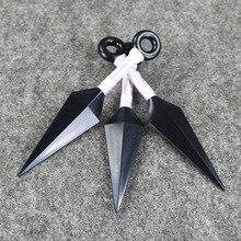 13cm Naruto PVC Kunai Cosplay 3Pcs in 2 Styles