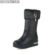 2019 women fashion erogenous mid calf women boots