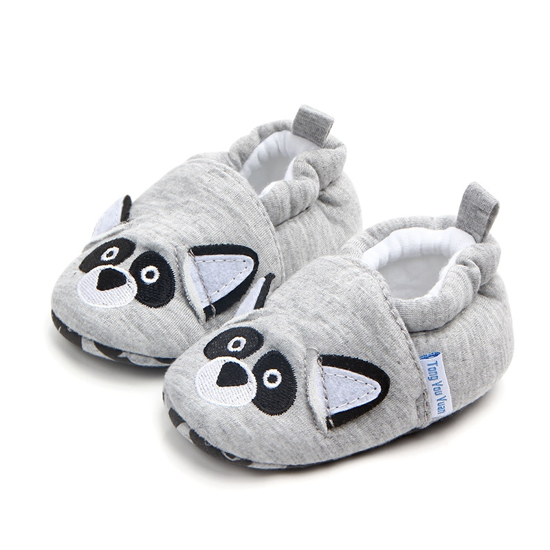 Classic Cotton Baby Shoes Spring Cartoon Animal Baby Girl Shoes First Walkers Casual Baby Boy Shoes